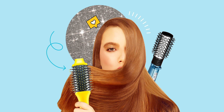 14 Best Hair Dryer Brushes For All Hair Types 2020 Hot Air Brushes