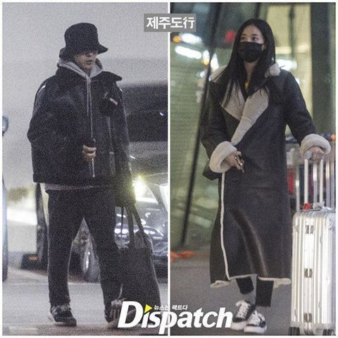 李珠妍深夜「手滑」上傳和G-Dragon權志龍親密自拍!粉絲:原來還在一起啊