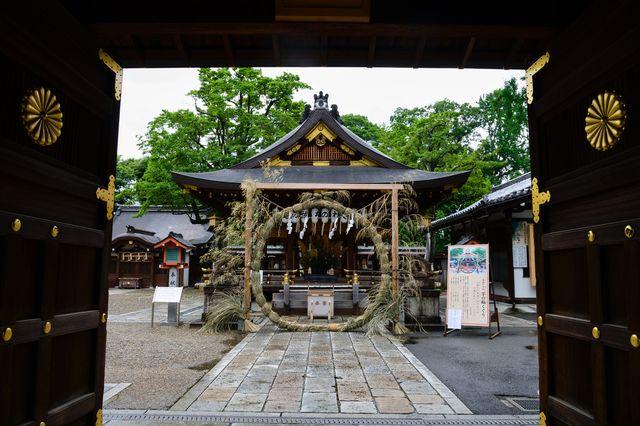 京都・護王神社 夏越の祓い