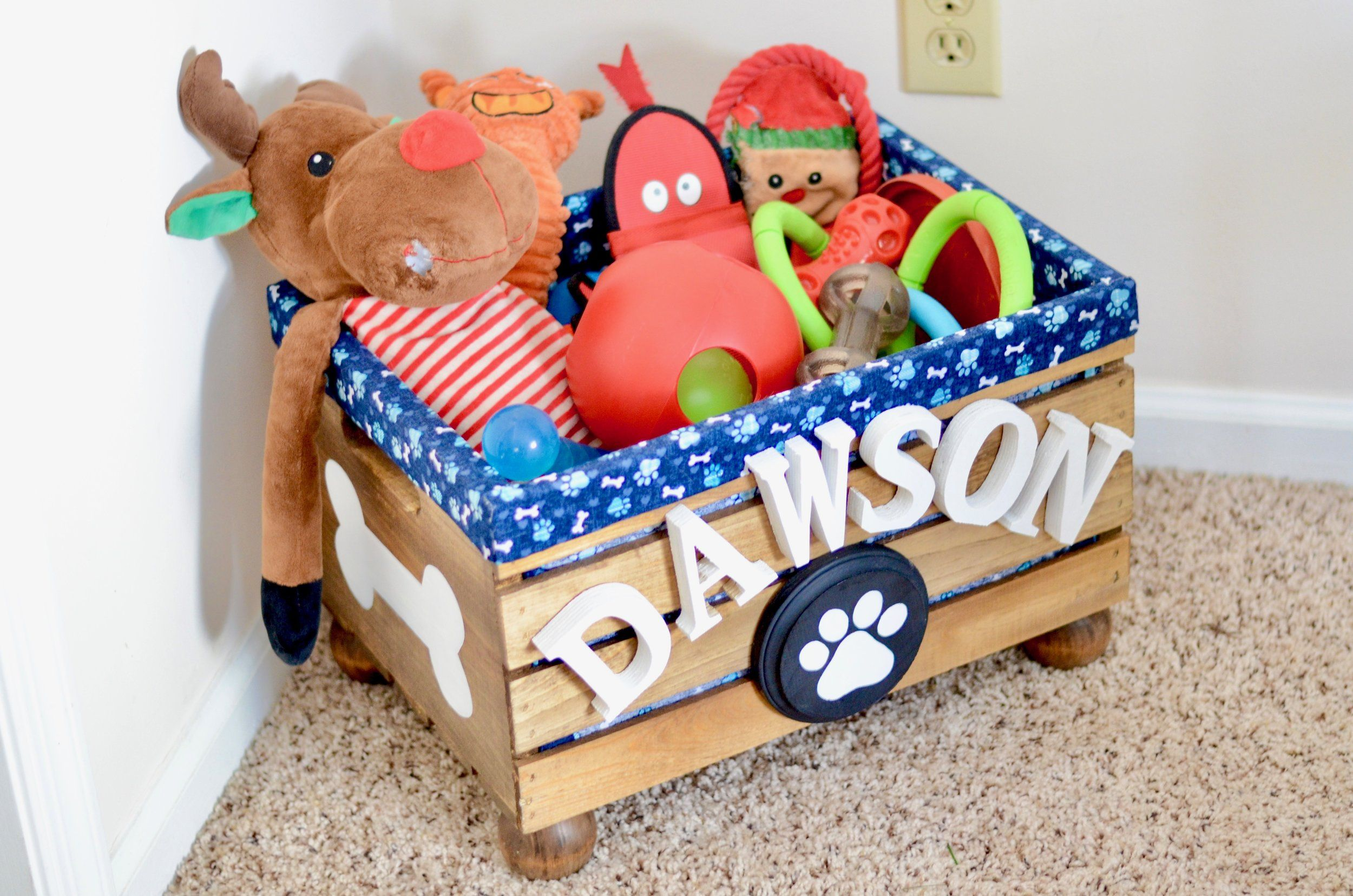 15 Diy Toy Boxes How To Make A Toy Box
