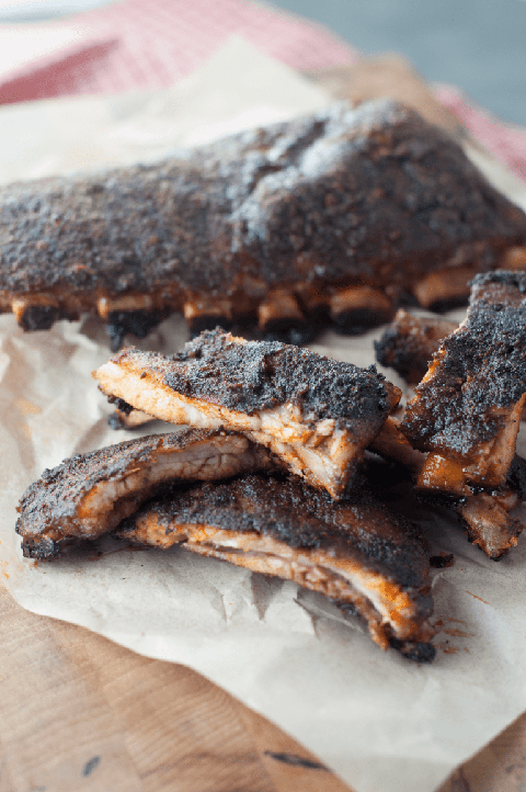 Keto Barbecue Dry Rub Ribs