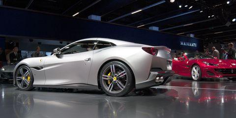 Land vehicle, Vehicle, Car, Auto show, Performance car, Luxury vehicle, Automotive design, Sports car, Supercar, Ferrari california,