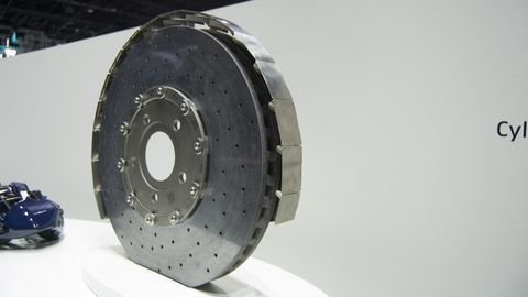 The Bugatti Chiron S Front Brakes Can Generate Downforce