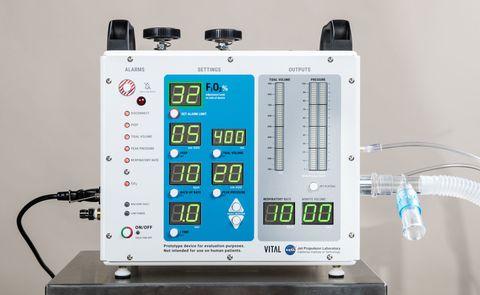 nasa's new ventilator prototype