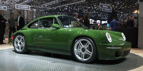 Land vehicle, Vehicle, Car, Motor vehicle, Coupé, Sports car, Auto show, Supercar, Rim, Porsche 911 classic,