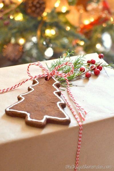 diy christmas ornaments cinnamon scented ornaments - Handmade Christmas Ornament Ideas