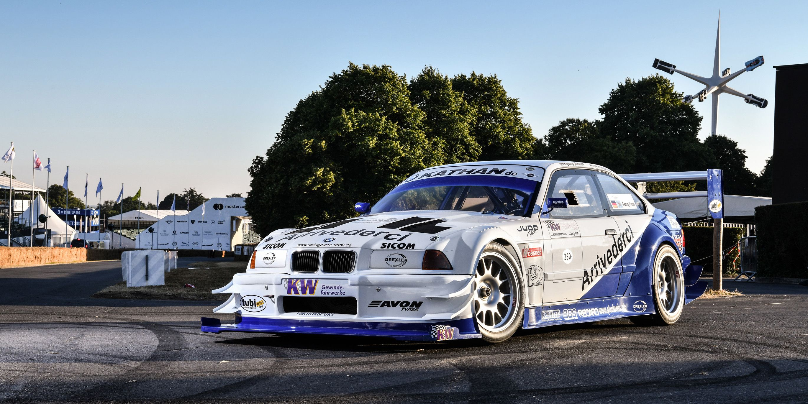 Hillclimb Legend Georg Plasa's Judd V8-Powered BMW E36