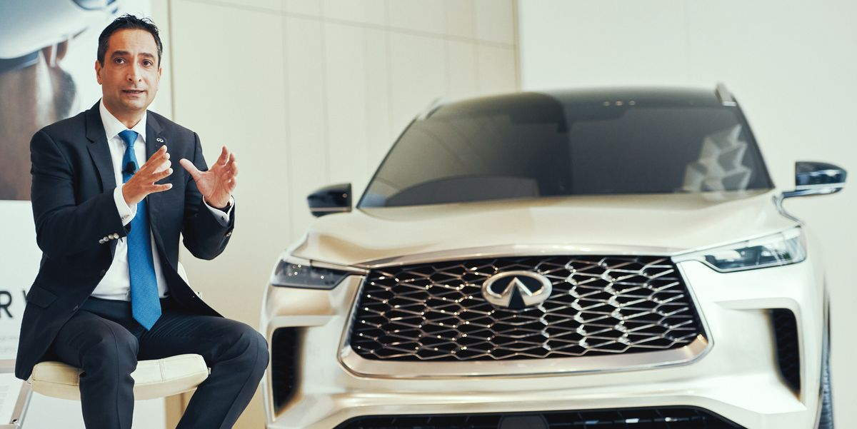 Infiniti's New CEO Reveals the Future of the Luxury Brand