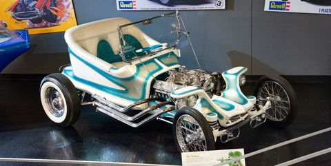 Ed Roth exhibit at National Corvette Museum 2020 preview