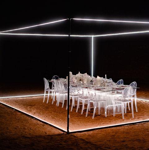 jordan desert dinner
