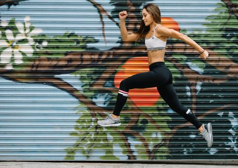 Sportswear, Physical fitness, Leggings, Jogging, Tights, Running, Leg, Active pants, Exercise, Muscle,