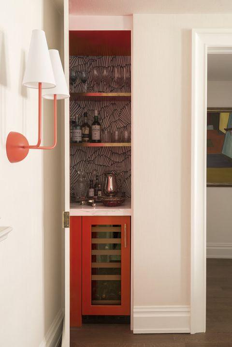 corner storage closet