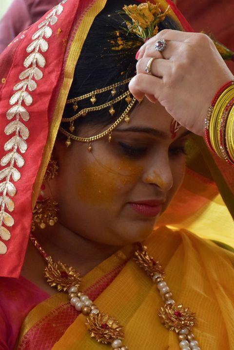 Sari, Tradition, Ritual, Ceremony, Temple, Marriage,