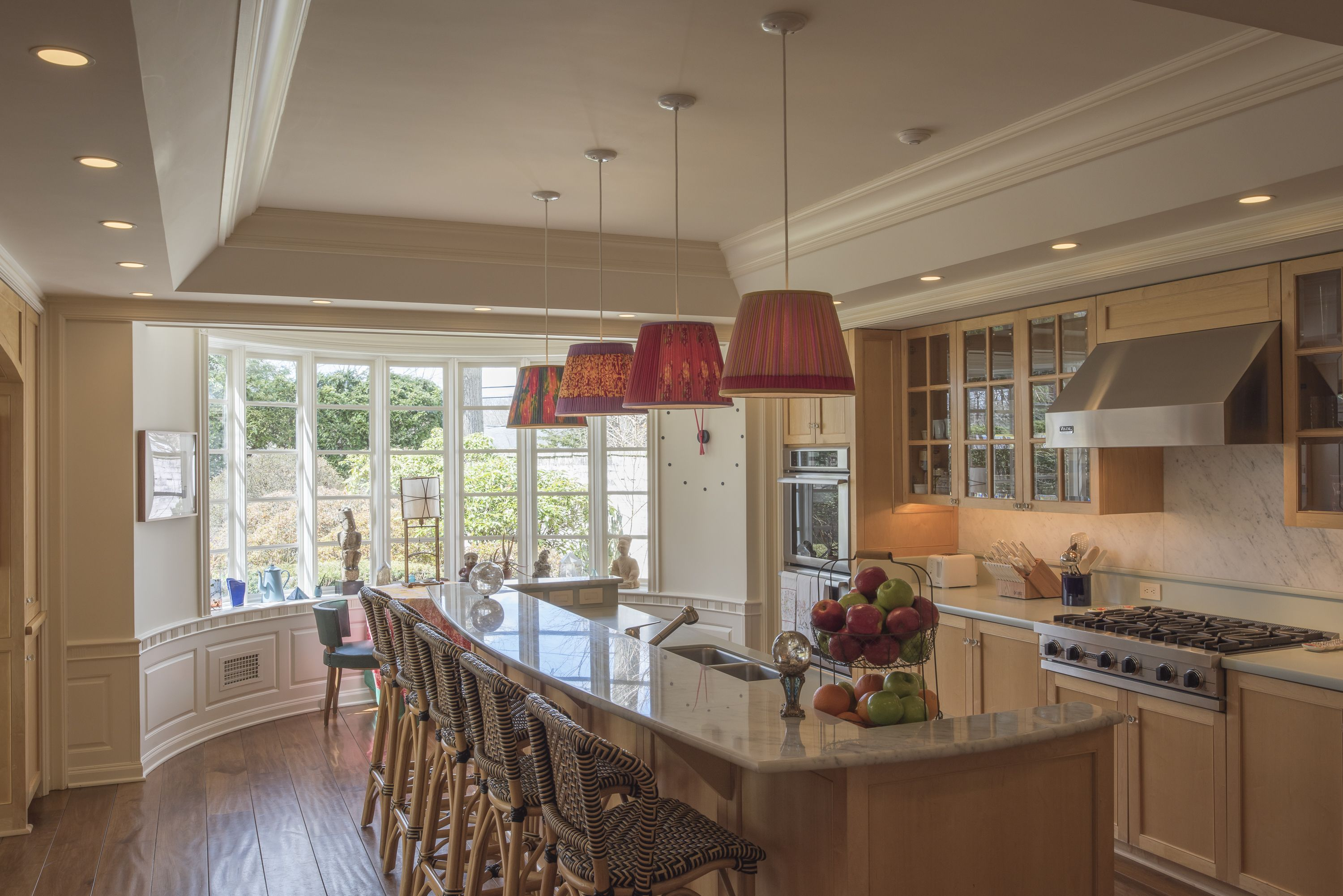 The home's large eat-in kitchen is spacious enough for the whole family.