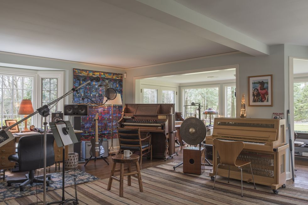The Grammy Award-winner recorded many of his hit albums here.