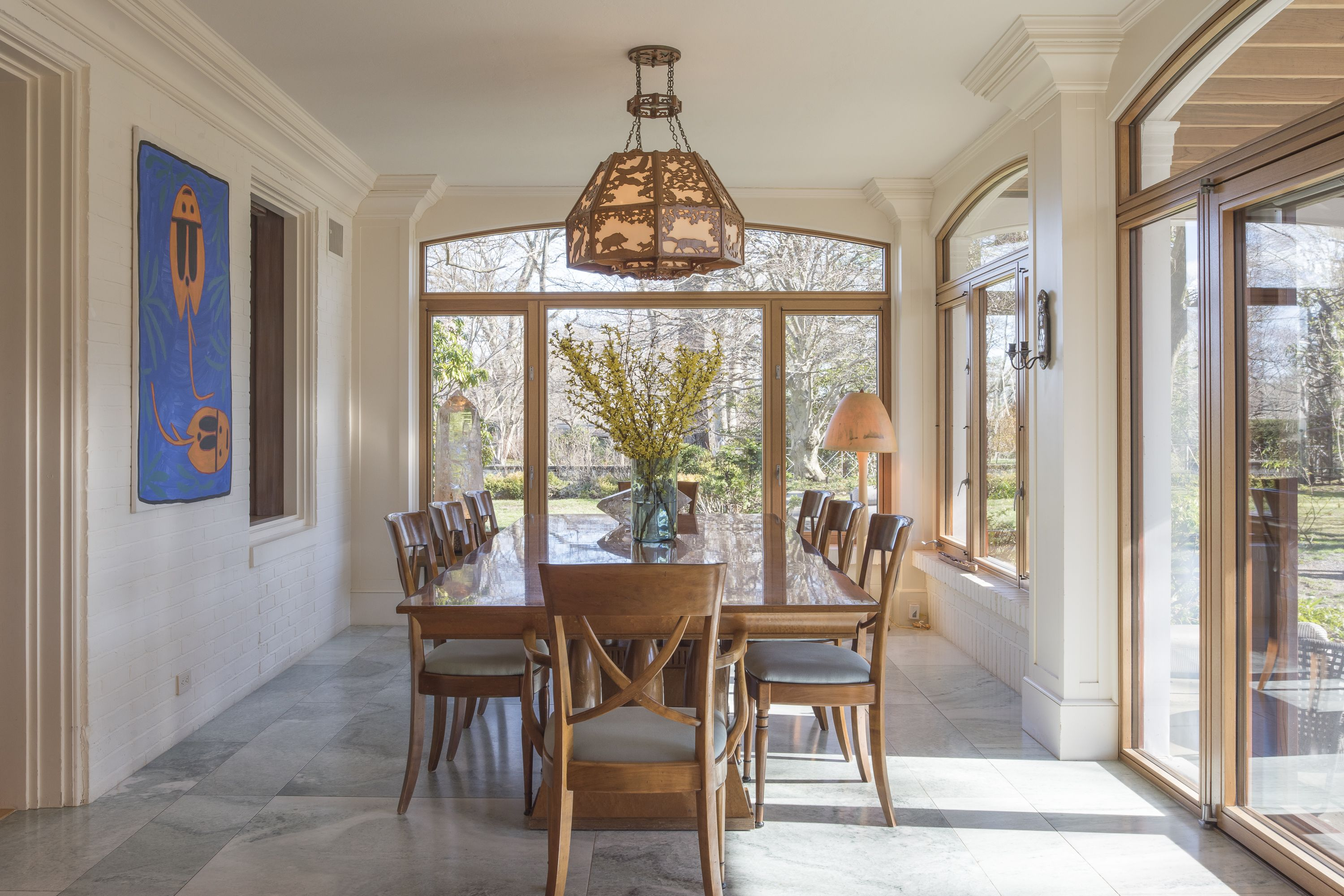 Plus, there's a light-filled dining room for more formal occasions.