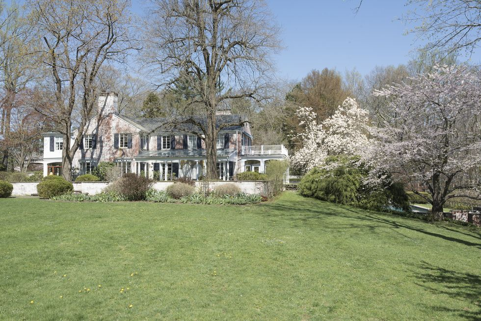 The 8,525-square-foot home is listed by Leslie Razook and Anne Krieger of Sotheby's International Realty.