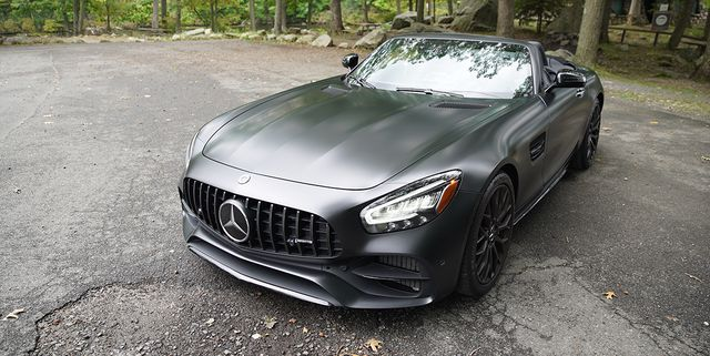 2021 mercedes amg gt roadster stealth edition