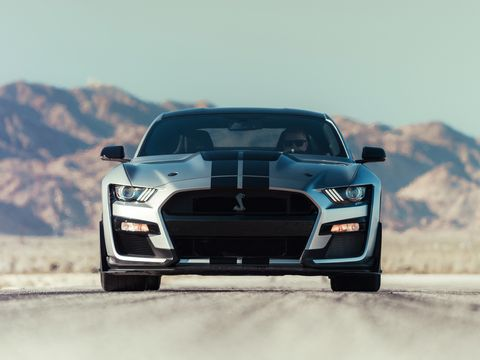 The 2020 Ford Mustang Shelby Gt500 Has A Top Speed Limited To 180 Mph