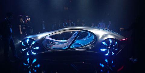 Mercedes' Vision AVTR Concept at CES