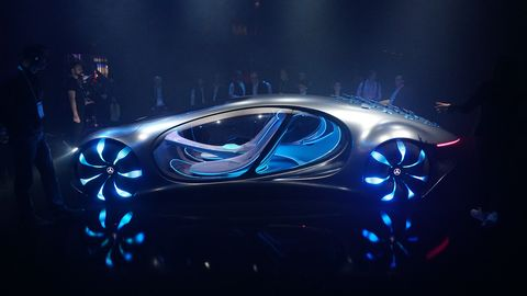 Mercedes' AVTR Concept at CES