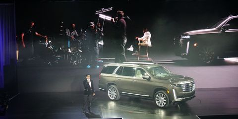 Spike Lee atCadillac Escalade Reveal in L.A.