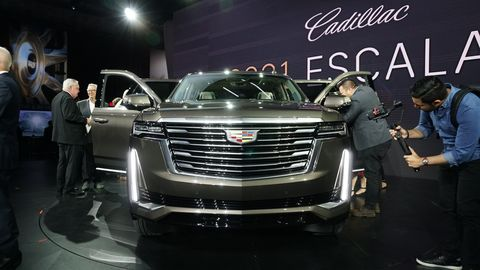 Spike Lee RevealsNewCadillac Escalade in L.A.