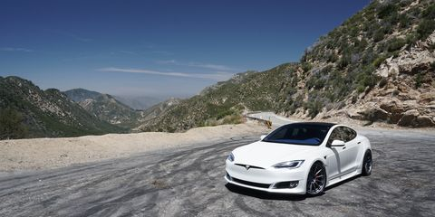 tesla model s by unplugged performance looks cool, drives cooler