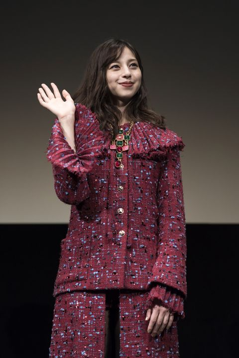 tokyo, japan   november 04 ayami nakajo attends the stage greeting event for 'flight on the water' screening held as part of the 33rd tokyo international film festival at ex theater roppongi on november 04, 2020 in tokyo, japan photo by tomohiro ohsumigetty images for chanel