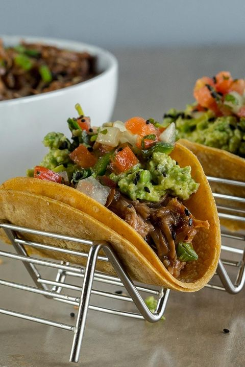 tacos with guac
