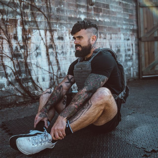 Sitting, Cool, Photography, Leg, Footwear, Muscle, Room, Shoe, Street, Flash photography,