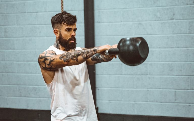This 9-Minute Kettlebell CrossFit Workout Will Burn Huge Calories and Battle Stubborn Body Fat
