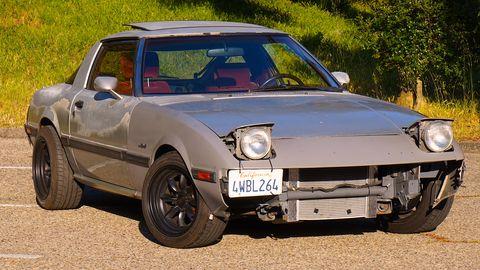 Land vehicle, Vehicle, Car, Regularity rally, Coupé, Classic car, Sedan, Sports car, Fiat x1/9,