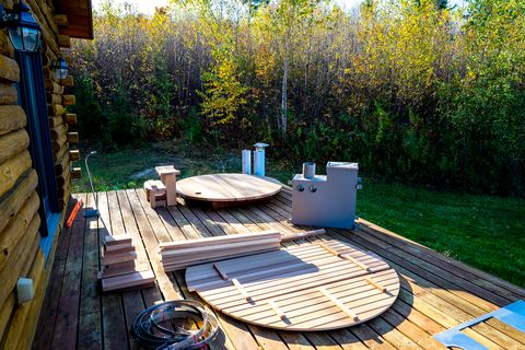 How To Build A Wood Fired Hot Tub