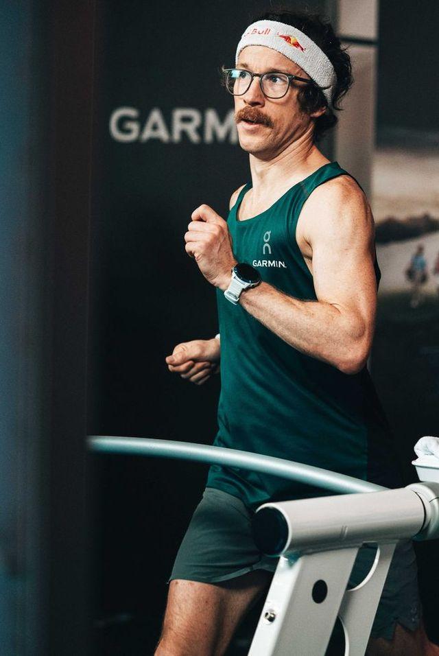 florian neuschwander 100k treadmill record
