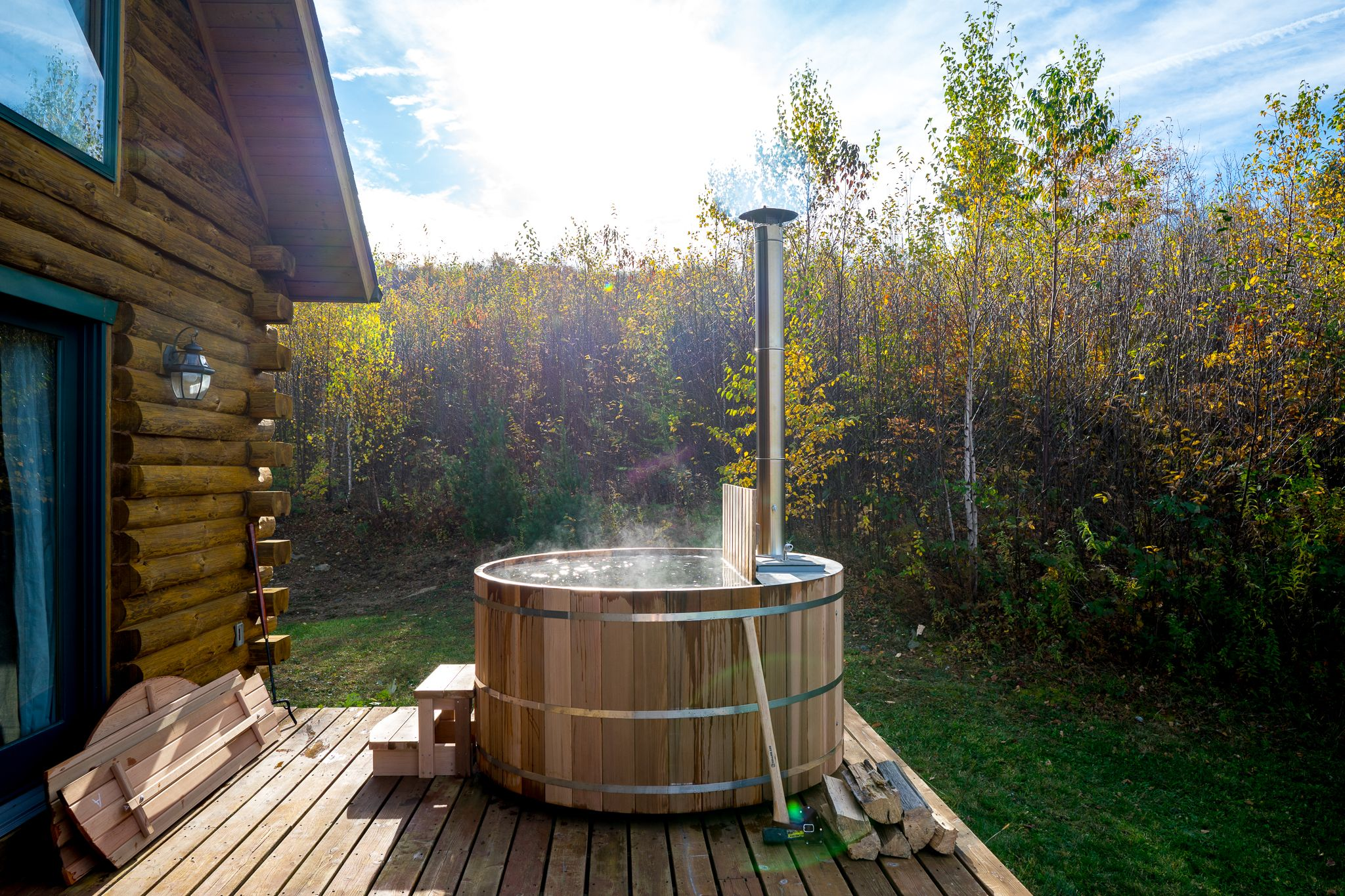 How to Build a Wood-Fired Hot Tub