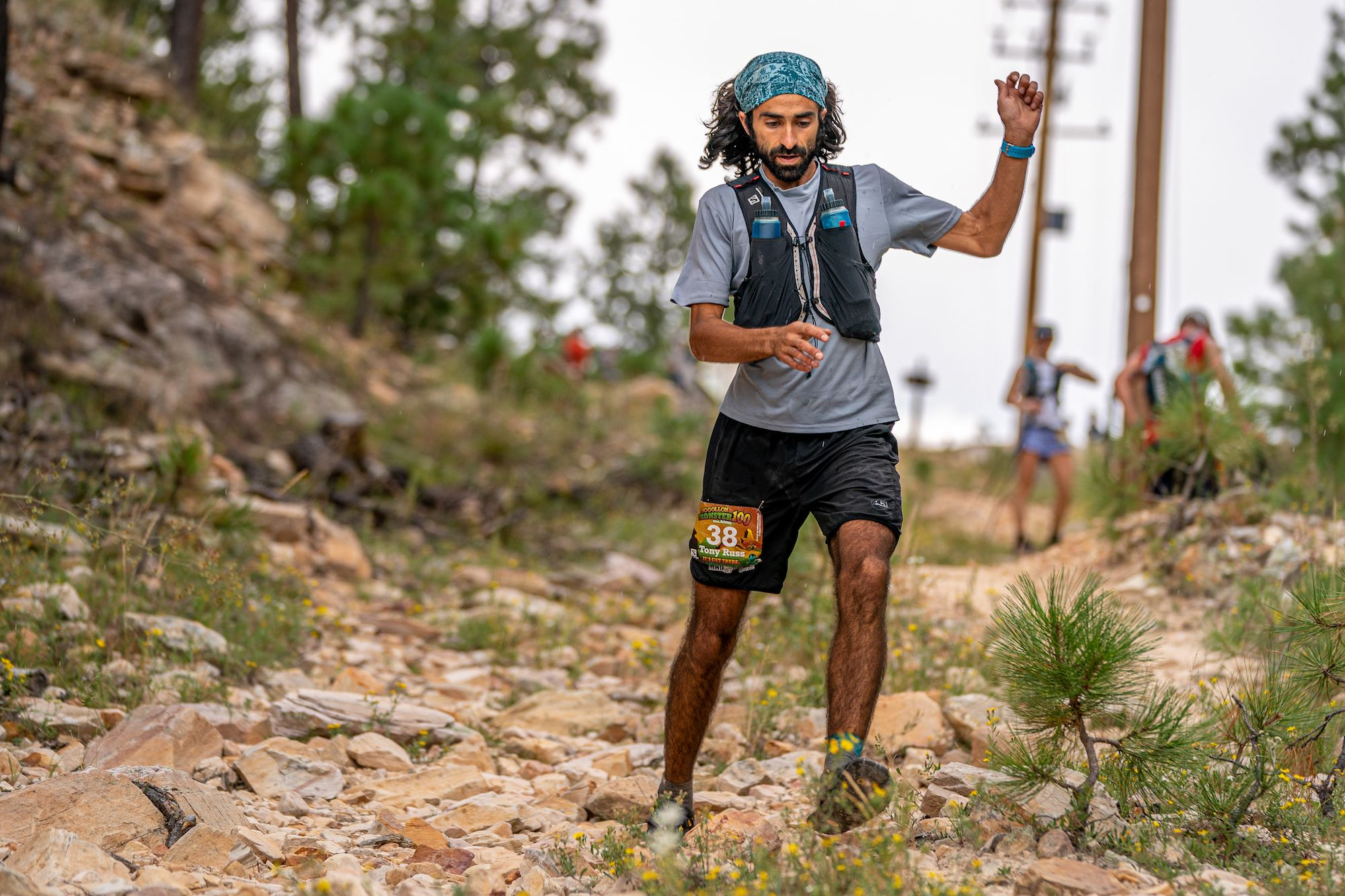 This Ultrarunner Ran 400 Miles to Start Line of a 100-Mile Race—In Sandals