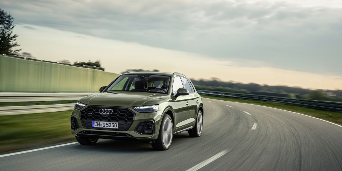 Audi Updates the Q5 for 2021 with a New Design and Adds a Bit More Power, Too