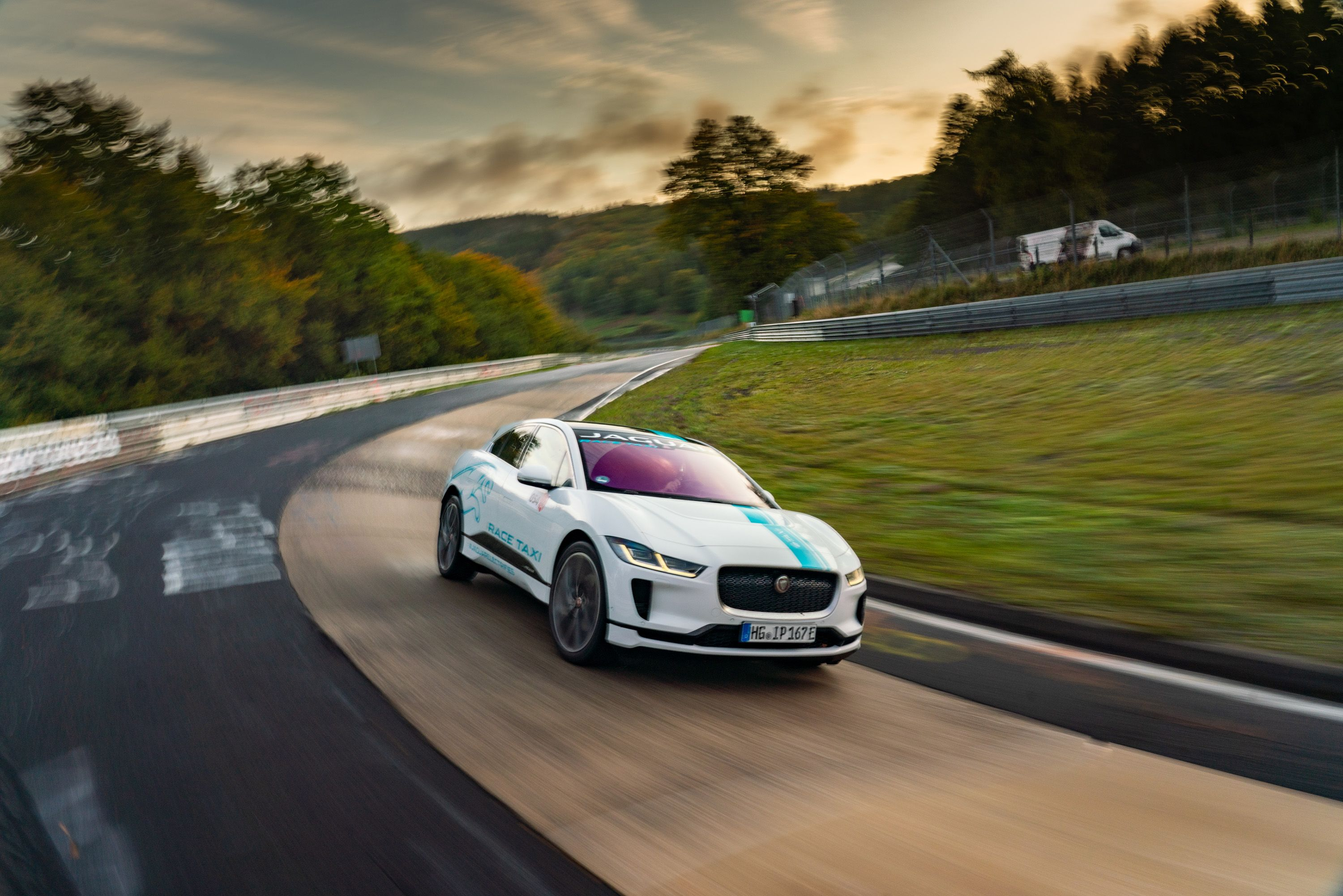 It Feels Like Jaguar's Making a Point With Its I-Pace Ring Taxi