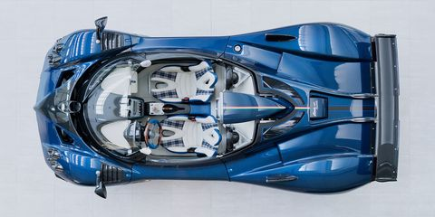 The Pagani Zonda HP Barchetta Is Unbelievably Gorgeous
