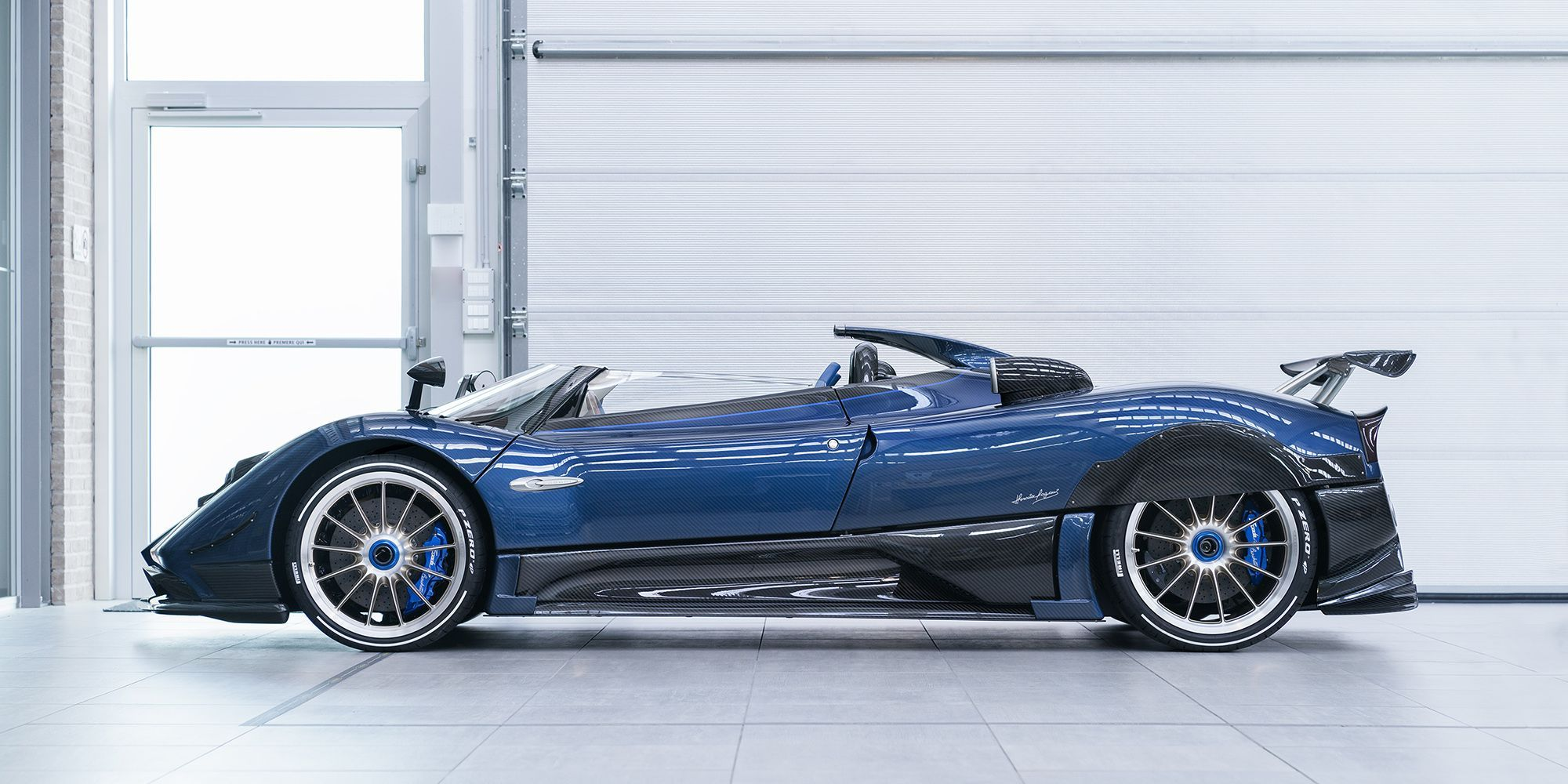 pagani zonda hp barchetta hd