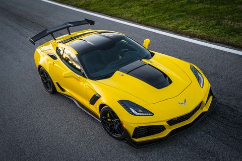 2019 Corvette Zr1 Review 755 Horsepower Corvette Zr1 First