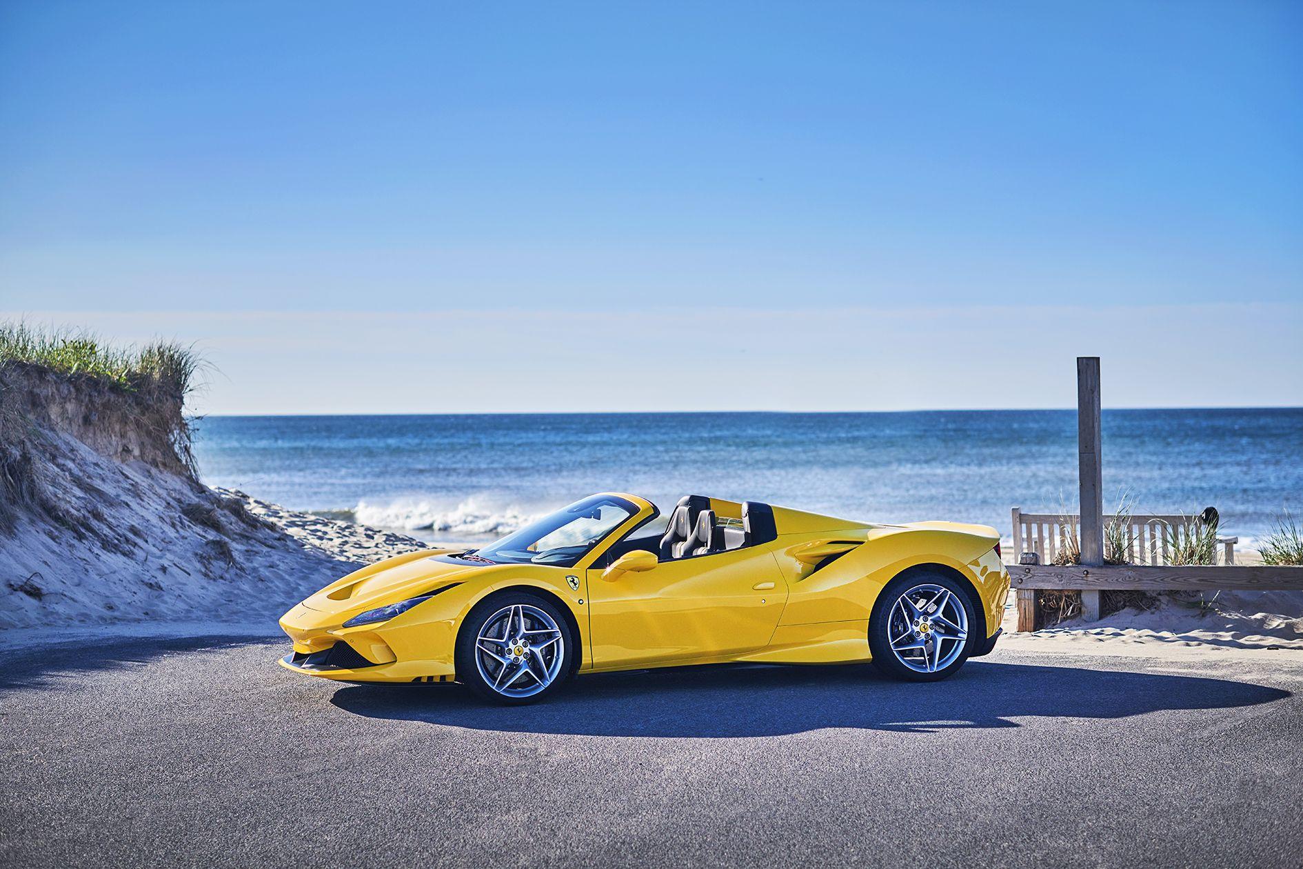 The 2020 Ferrari F8 Spider Makes Social Distancing A Snap