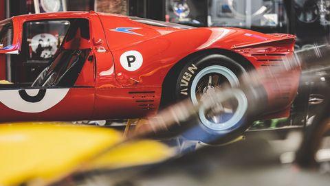 Inside the Scuderia Cameron Glickenhaus shop - Ferrari collection