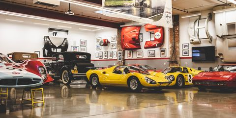 Inside the James Glickenhaus collection
