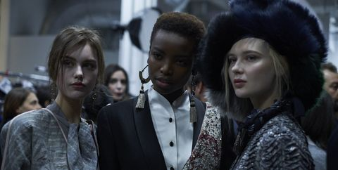 People, Fashion, Street fashion, Fur, Human, Headgear, Street, Fur clothing, Crowd, Style,