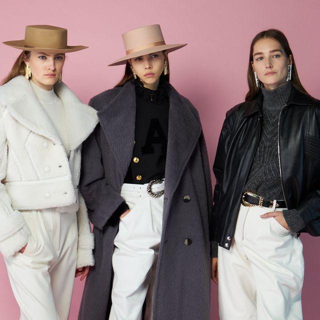 Fashion, Human, Outerwear, Hat, Fashion design, Headgear, Facial hair, Suit, Fedora, Event,