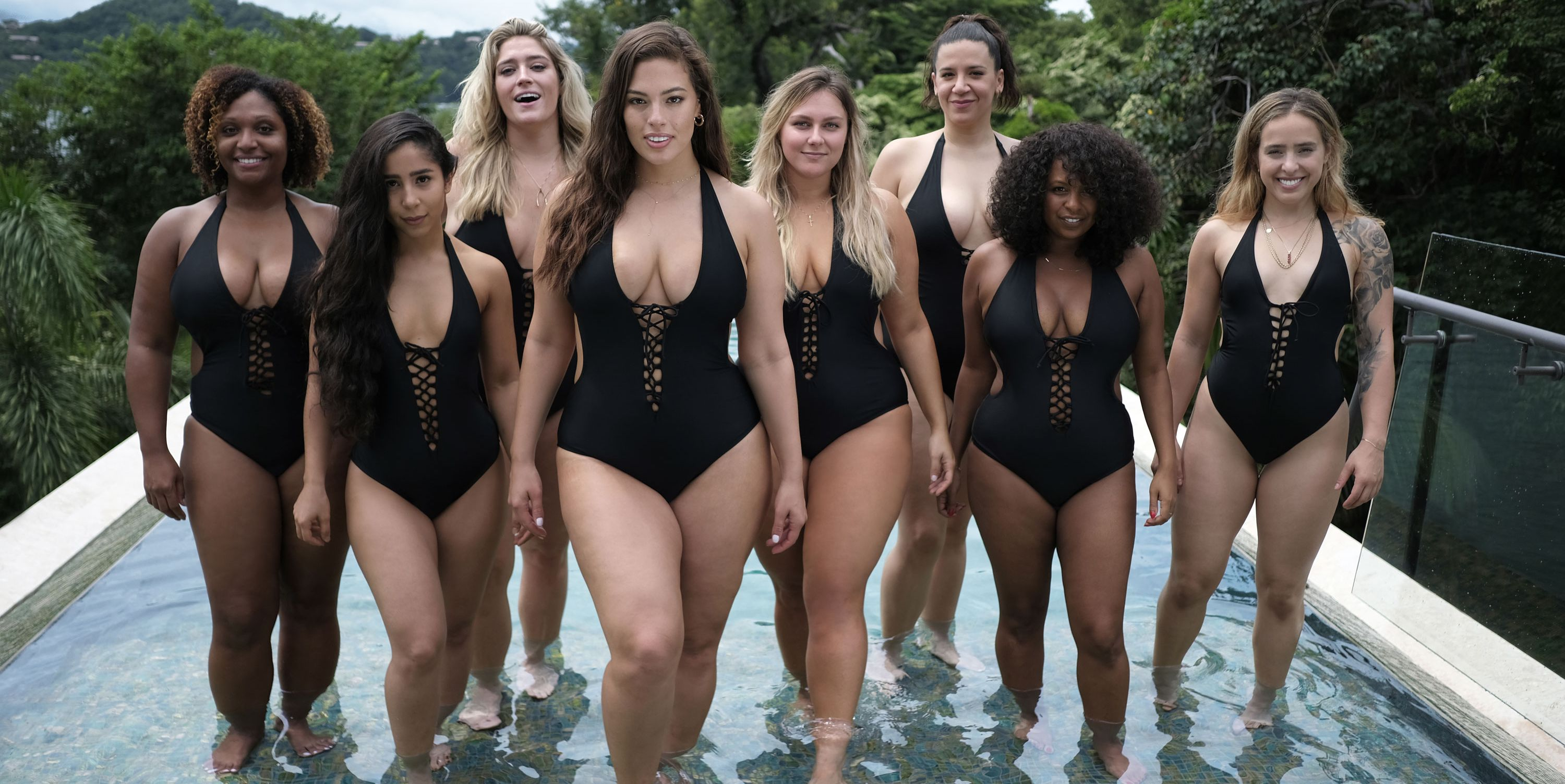 Ashley Graham Swimsuits For All Collection Ashley Graham