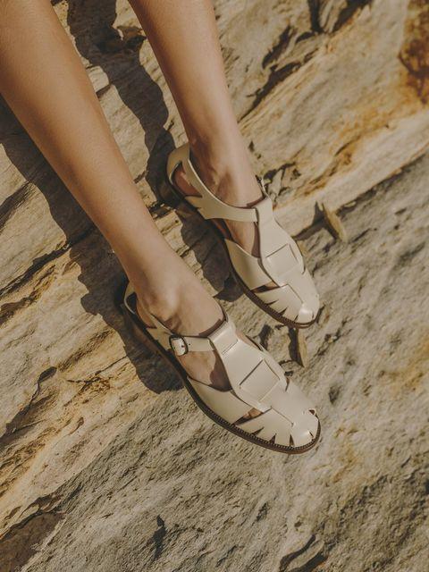 sandali da pescatore da donna