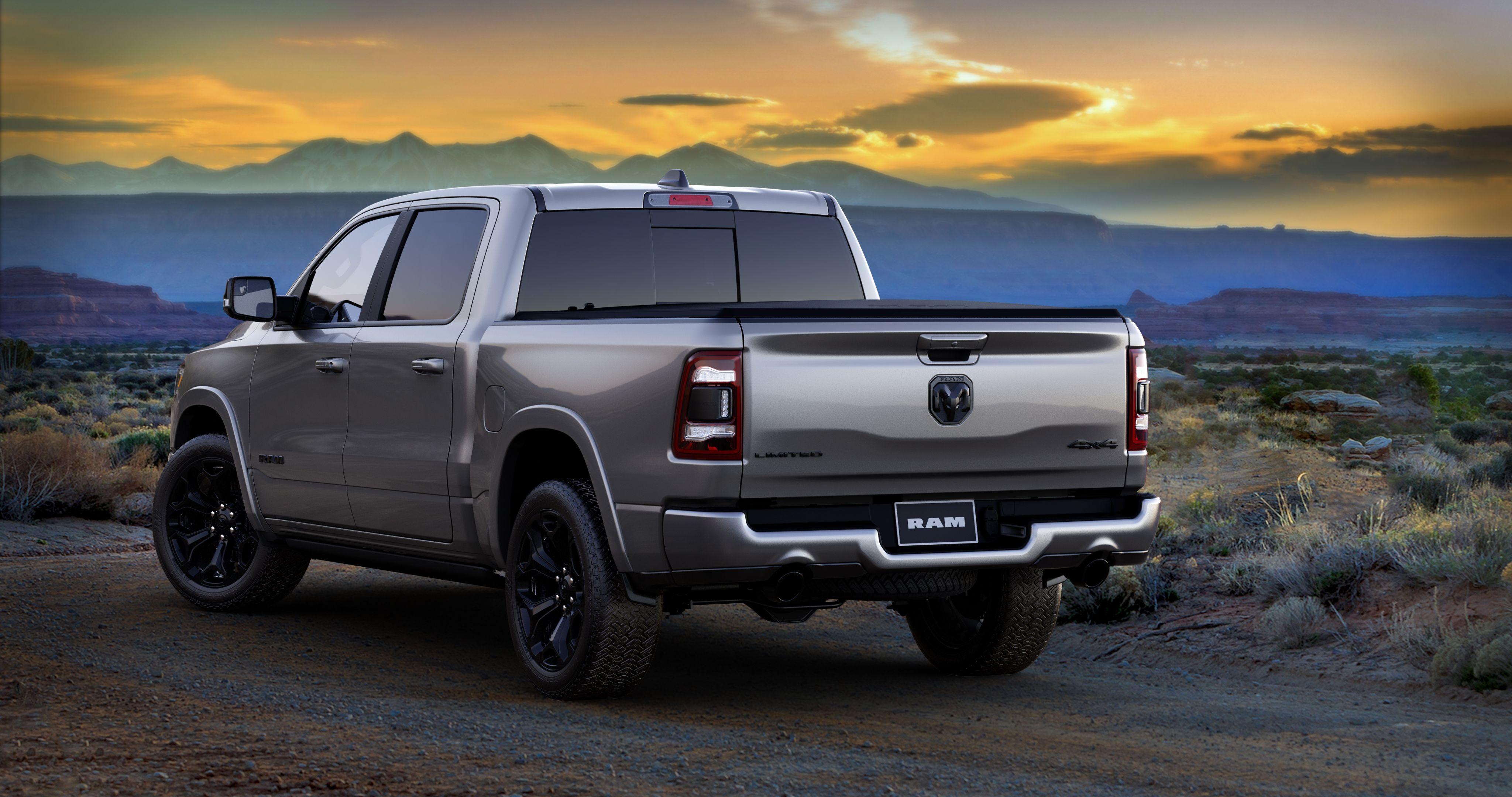 2021 Ram 1500 Hd Trucks Get Limited Night Editions